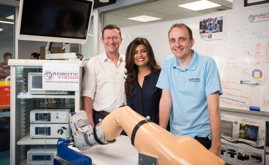 Medical robotics to make keyhole surgery safer