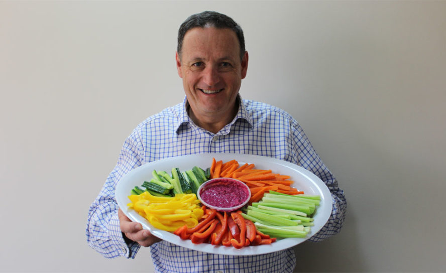 'Try for 5' serves of veg a day